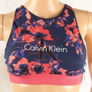 Calvin Klein Women's Sports Bralette Multi Color